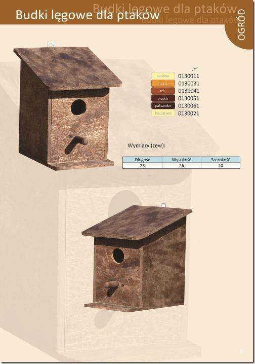 Budki legowe dla ptakow