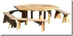 Stół i ławki Lola
