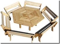 Stół i ławki Liliana