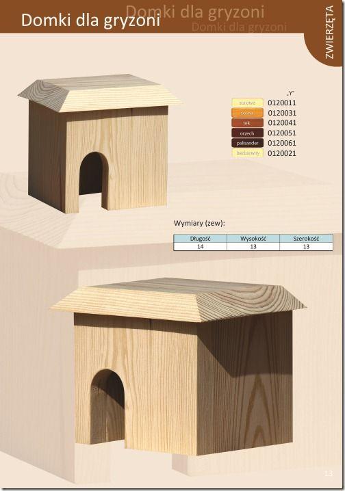 Domki dla gryzoni